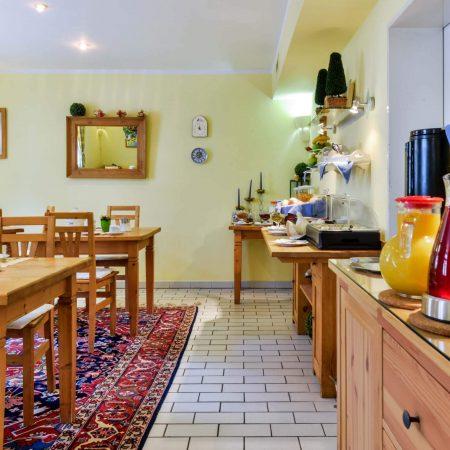 Gästehaus am Turm Frühstücksraum
